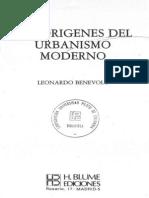 Origenes Urbanismo Moderno-Benevolo L