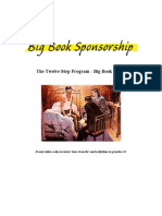Big Book Sponsorship - The Twelve Step Program - Big Book Guide - 4-Hour-12-Steps