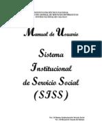 Manual de Usuario de Servicio Social