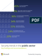 Security Trends in the Public Sector