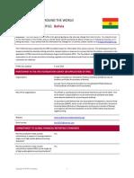 Bolivia IFRS Profile