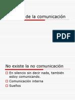 Axiomas de La Comunicación 1