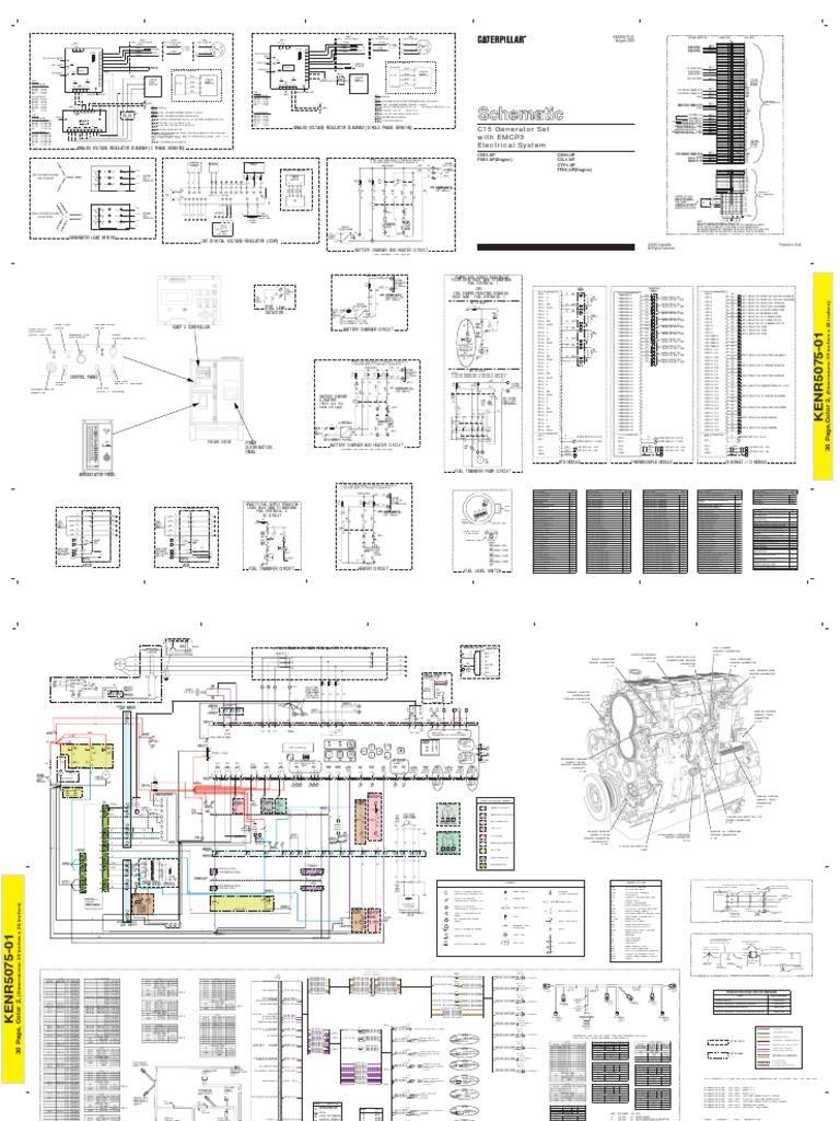Fein Caterpillar C15 Schaltplan Bilder - Die Besten Elektrischen ...