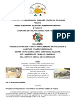 Orientações e Ficha de Inscrição Feira Regional Sul Pr