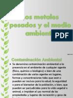 Los Metales Pesados y El Medio Ambiente