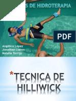 Tec. Hidroterapia