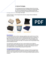 Types of Dunnage for Interior Packaging