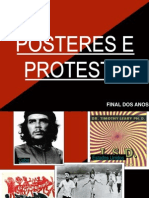 Posteres e Protesto Hiperlinks
