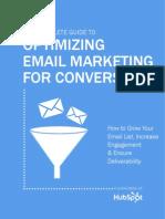 EMail Marketing - Optimizing