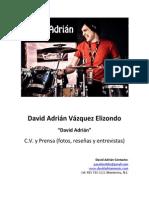 David Adrian CV