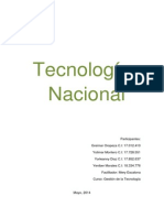 Tecnología Nacional