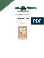 Antígona Vélez Análisis y Actividades