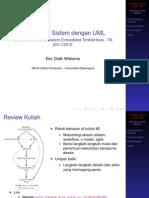 TSK612 Kuliah3 UML Modelling