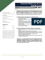 Financiera PEGA Reporte AP 042012