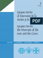 Jacques Sevir El Itinerante de La Tienda y de La Cruz. CISE 2001