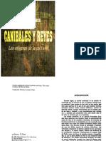 Canibales y Reyes Los Origenes de La Cultura Harris Marvin