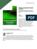 Tecnicas Avanzadas de Formato Con Excel by Blade