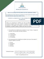 Cuadernillo Matematicas Quinto