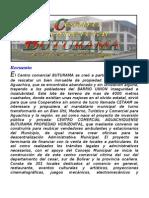 recuento histórico y legal del centro comercia lbuturama