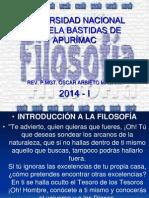 Introduccion a La Filosofia.unamba. Abril 2014. i.