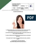 Taller Semestral i Periodo Matemáticas Cuarto