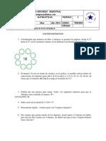 Taller Semestral i Periodo Matemáticas Tercero