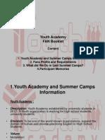 Summer Camp '14 Booklet