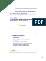 Mesoterapia y Otras Tecnicas Inyectivas en Celulitis