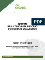 7 OA-InF-AL-02 Resultados de Siembras ALGODON 12Jul2013