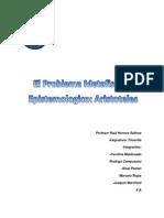 El problema metafisico y epistemologico, Aristóteles. (completo)
