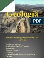 Geología y Sus Ramas