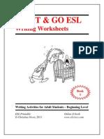 Esl e Book Writing 1