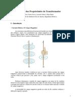CEME II - Experimento 01 - Verificação Das Propriedades Do Transformador