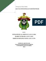 Penganggaran Sektor Publik Kel. 4