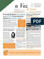 La Voz de Arroyo. Nº Mayo 2014 www.pia-arroyomolinos.com