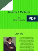 Midterm by Virginia