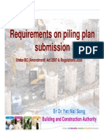 Piling Requirements