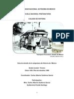 Historia de México 1 - Iniciación