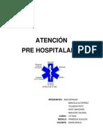 Trabajo Atencion Pre Hospitalaria