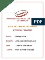 CRIMINALISTICA CUARTA TAREA