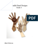 mendhi hand designs lesson plan pdf