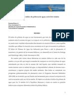 Cálculo de Un Índice de Pobreza de Agua a Nivel de Estados_Mexico