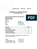 Laser Alignment Vibration Report 1