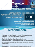 Wenu Mapu La Astronomía Mapuche