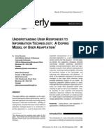 Understanding User Responses To