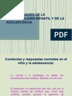 Generalidades de La Psicopatología Infantil y de La Adolescencia