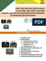 Presentasi Penyusunan RPI2JM 5 KSN (KSN PBTS ACEH-SUMUT, SULUT-GORONTALO-SULTENG, RIAU-KEPRI, KSN PBPB SABANG, dan KSN PACANGSANAK) serta KAWASAN SEI MANGKEI DAN SEKITARNYA