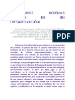 DIFICULTADES DOCENteS