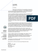 foster letter of rec