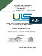 Planeación de Auditoría de Sistemas